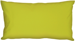 Caravan Cotton Lime Green 9x18 Throw Pillow