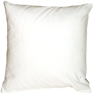 Caravan Cotton White 16x16 Throw Pillow