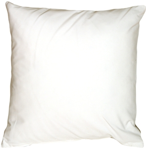 Caravan Cotton White 20x20 Throw Pillow
