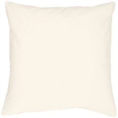 Caravan Cotton Cream 23x23 Throw Pillow