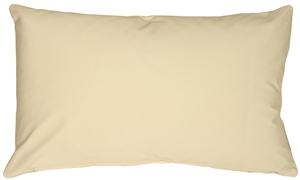 Caravan Cotton Cream 12x20 Throw Pillow