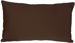 Caravan Cotton Brown 12x20 Throw Pillow