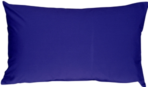 Caravan Cotton Royal Blue 12x20 Throw Pillow