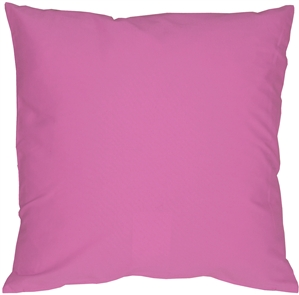 Caravan Cotton Orchid Pink 18x18 Throw Pillow