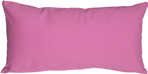 Caravan Cotton Orchid Pink 9x18 Throw Pillow