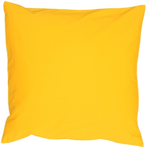 Caravan Cotton Yellow 18x18 Throw Pillow