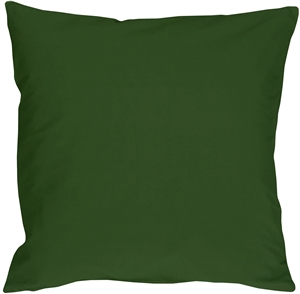 Caravan Cotton Forest Green 16x16 Throw Pillow