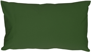Caravan Cotton Forest Green 9x18 Throw Pillow