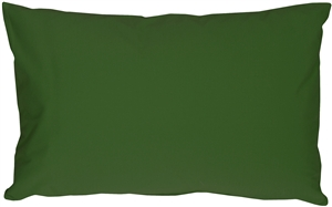 Caravan Cotton Forest Green 12x20 Throw Pillow