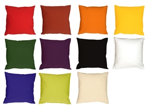 Caravan Cotton 23x23 Throw Pillows