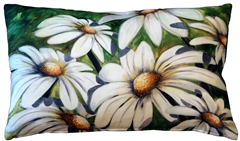 Daisy Patch 12x20 Throw Pillow
