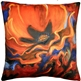 Orange Poppy 20x20 Throw Pillow
