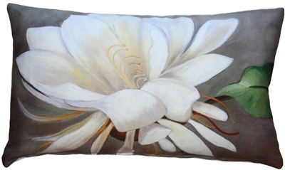 Cactus Flower 12x20 Throw Pillow