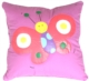Biala the Butterfly Children's Throw Pillow