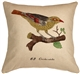 Bird on Branch 20x20 Throw Pillow
