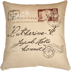 1907 Airmail 24x24 Throw Pillow