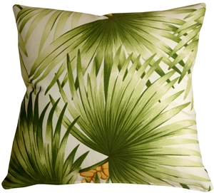 Palm Leaf 20x20 Decorative Pillow