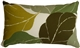 Autumn Leaves 12x20 Green Throw Pillow