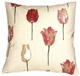 Albany Tulips 22x22 Throw Pillow