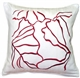 Summer Breeze Red 20x20 Throw Pillow