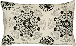 Waverly Kaleidoscope Tuxedo 12x20 Throw Pillow