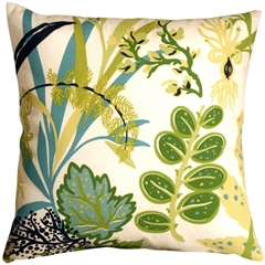 Waverly Fishbowl Aquarium 20x20 Outdoor Pillow