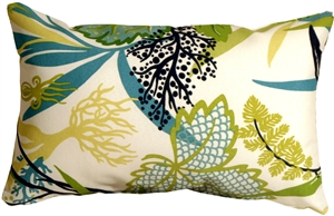 Waverly Fishbowl Aquarium 12x19 Outdoor Pillow