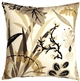 Waverly Fishbowl Caviar 20x20 Outdoor Pillow