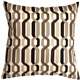 Waverly New Twist Caviar 20x20 Outdoor Pillow