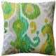 Ikat Journey Outdoor Throw Pillow 20x20