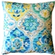 Ali Baba Blue Outdoor Throw Pillow 20x20