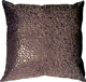 Pebbles in Purple 12x12 Faux Fur Throw Pillow