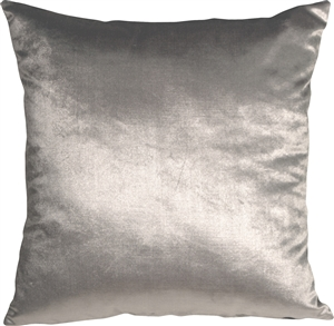 Milano 20x20 Silver Decorative Pillow