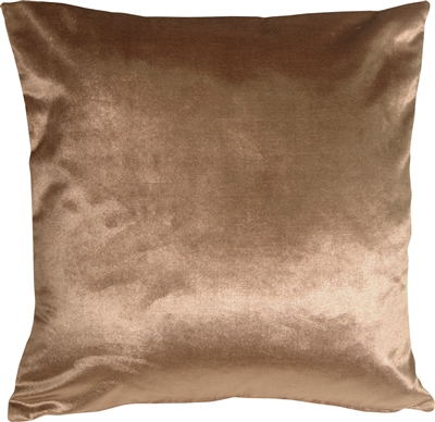 Milano 16x16 Light Brown Decorative Pillow
