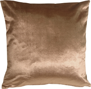 Milano 20x20 Light Brown Decorative Pillow