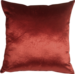 Milano 16x16 Red Decorative Pillow