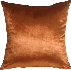 Milano 20x20 Burnt Orange Decorative Pillow