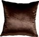 Milano 16x16 Brown Decorative Pillow