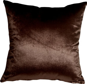 Milano 20x20 Brown Decorative Pillow