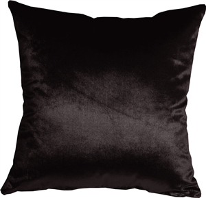 Milano 16x16 Black Decorative Pillow
