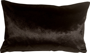 Milano 12x20 Black Decorative Pillow