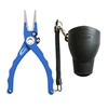 "7.5"" Admiral Aluminum Tournament Pliers Blue"