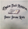 Pastoral Towel, Customized Pastoral Towels, Custom Embroidered Pastoral Towels, Embroidered Towels, Custom Towels, clergy towels, pastor towels, ordination gifts, preaching towels