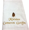 Pastor Towels, Clergy towels, preacher towels,ordination gifts