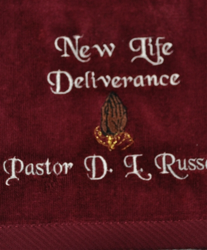 Pastor Towels, Customized Pastoral Towel, Pastoral Towels