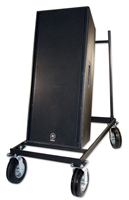 Tall Upright Speaker Cart