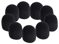 Microphone Windscreens - Black