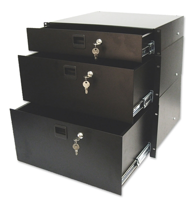 2U Rack Drawer W/Lock