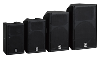 Yamaha DXR Active Loudspeakers