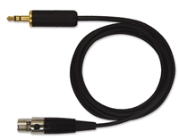 "Shure 3' 1/8""- TA4F Line Cable"